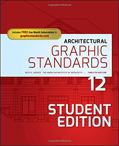 Architectural Graphic Standards RamseySleeper Architectural Graphic Standards Series