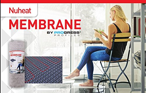"Nuheat Membrane - Large Roll (161sqft) – 39"" x 49.5ft"