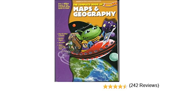 The Complete Book of Maps & Geography Grades 3-6: MC GRAW HILL ...