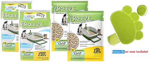 tidy-cat-breeze-refill-pads-spring-clean-scent-10pk-pads-pellets-bundle