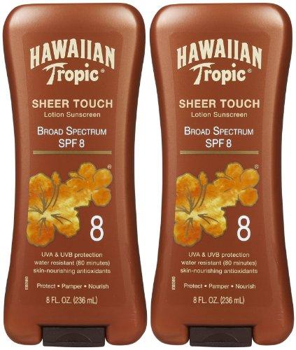 hawaiian-tropic-sheer-touch-lotion-sunscreen-spf-8-8-oz-2-pk