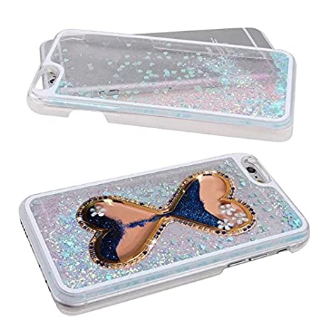 Amazon.com: iPhone 6 Plus/6S Plus diseño de líquido con ...