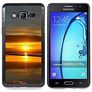 """For Samsung Galaxy On5 O5 , S-type Sunset Beautiful Nature 99"""" - Arte & diseño plástico duro Fundas Cover Cubre Hard Case Cover"""