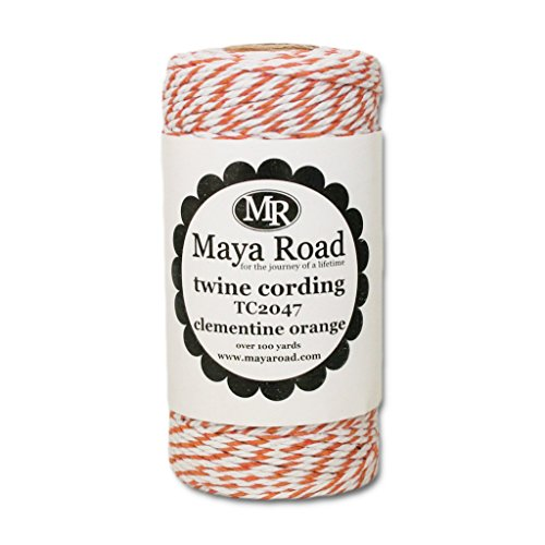 Thick Bakers (Maya Road Baker's Twine Cording, Clementine Orange)