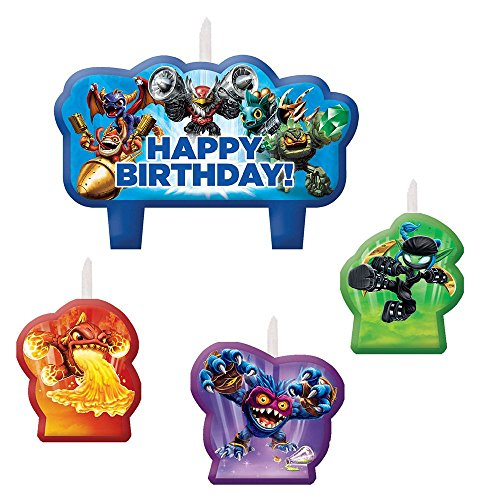 Skylanders Candle Set (4 Pack) ()