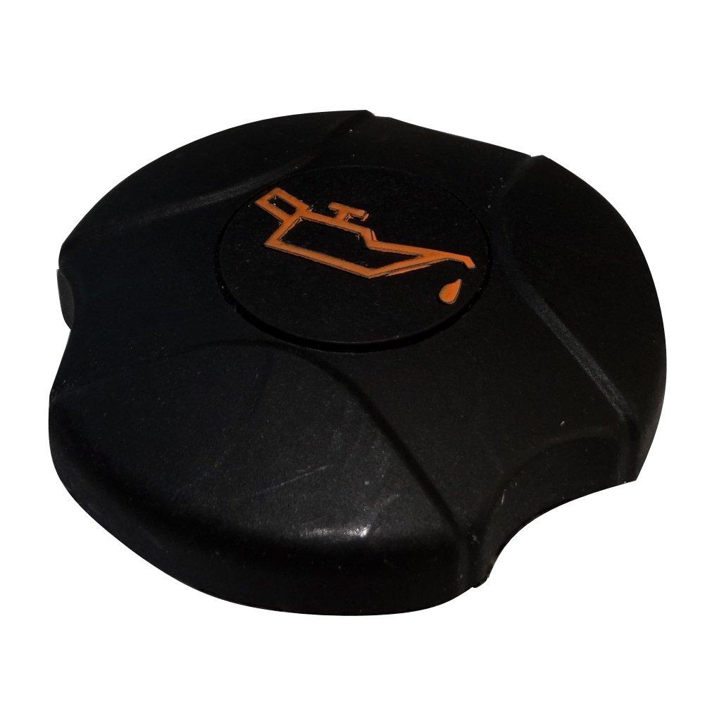 Aerzetix - Tappo in plastica C40050 bocchettone di riempimento olio motore compatibile con 0258.64 0258.55 9656384880 C40050 : AN6