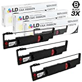 LD Compatible AMT Datasouth 130074 Set of 3 Black Printer Ribbon Cartridges for use in AMT Accel 7350, and 7450