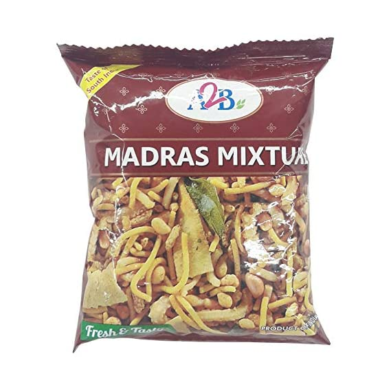 A2B Snacks - Madras Mixture, 40g