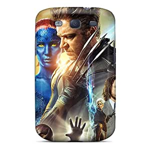 Tpu DAMillers Shockproof Scratcheproof X Men Days Of Future Past Movie Hard Case Cover For Galaxy S3
