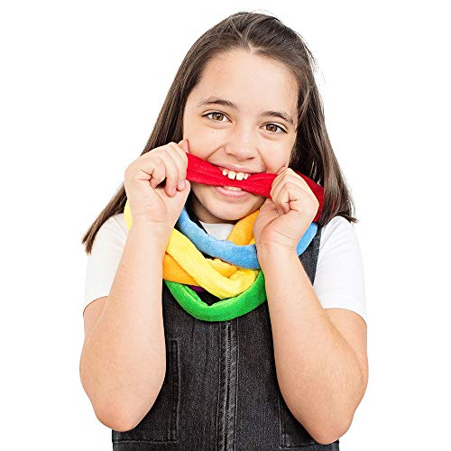 Fun and Function Bite Bands Chewy Necklaces for Calm and Focus Set of 6 ()