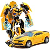 Kiditos Transformer Bumblebee Die Cast Metal Edition Robot to Car Converting Figure
