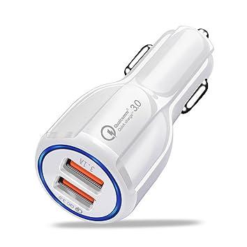 Zyx Cargador USB para Coche De 30W Cargador Rápido para ...