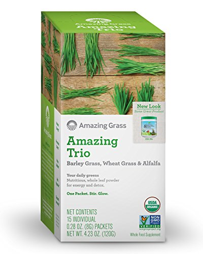 Amazing Grass Individual Servings Ounces