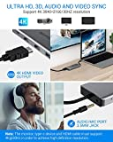 USB C HUB, EUASOO 11 in 1 USB C Docking Station