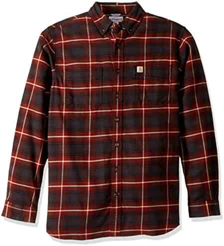 599dfb2c ... Relaxed Double Front Jean. seller: Amazon.com. (1). Carhartt Men's Big  & Tall Rugged Flex Hamilton Plaid Shirt