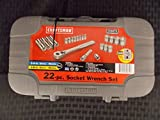 Craftsman 22 Piece Metric Socket Set, from 4-19MM, Made in USA, Part #934875