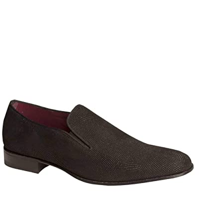 Mezlan Crespi Mens Luxury Formal Loafers - Unique Suede Venetian Slip-On Loafers with Leather Sole - Handcrafted in Spain - Medium Width | Loafers & Slip-Ons