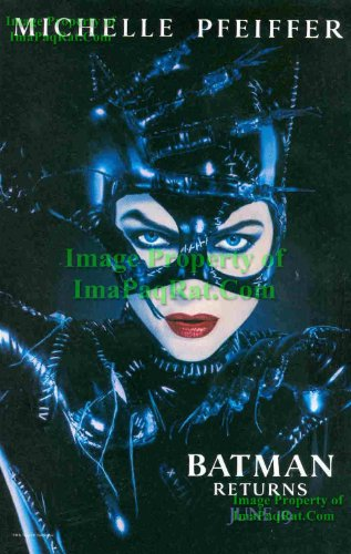 Batman Returns: Catwoman Michelle Pfeiffer: Sexy Original Photo Print Ad! (Picture Catwoman)