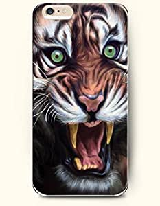 SevenArc Phone Case for iPhone 6 4.7 Inches with the Design of Tiger Howling