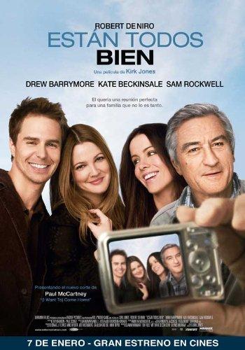Everybody's Fine Movie Poster (27 x 40 Inches - 69cm x 102cm) (2009) Argentine -(Robert De Niro)(Drew Barrymore)(Kate Beckinsale)(Sam Rockwell)