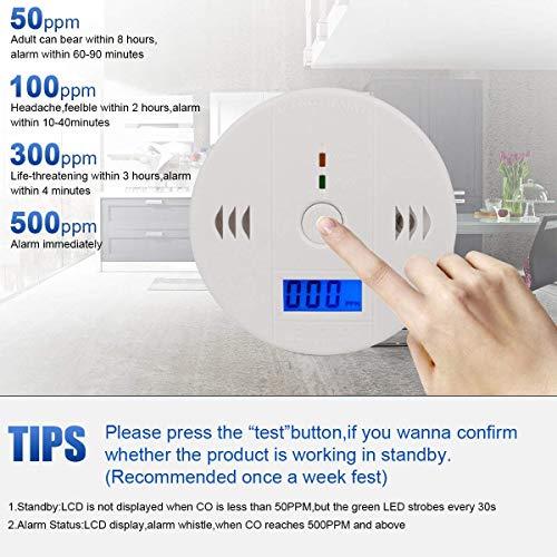 Carbon Detection, WJZXTEK Carbon Monoxide Equipment,