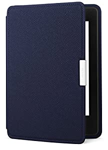 Amazon Kindle Paperwhite Case - Lightest and Thinnest Protective Genuine Leather Cover with Auto Wake/Sleep for Amazon Kindle Paperwhite, Ink Blue