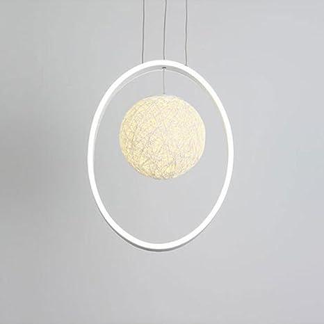 candelabro Lámparas Blancas acabadas del círculo del LED ...