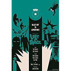 Lost In Space Aliens by Juan Ortiz Art Print Poster 12x18