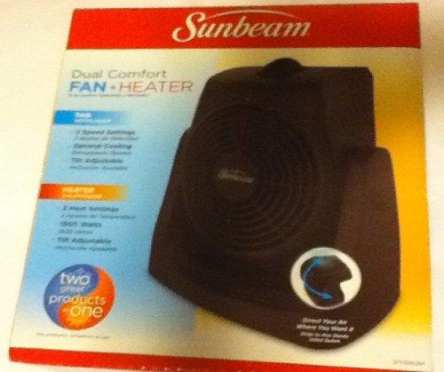sunbeam dual comfort heater fan - 1