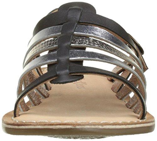 Kickers Dixmillion - Zapatos Niñas Noir (Noir Argent)