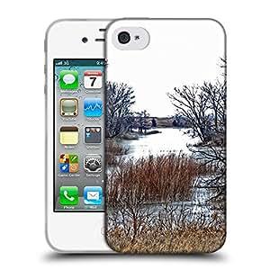 Super Galaxy Coque de Protection TPU Silicone Case pour // F00000019 planta de árbol al aire libre // Apple iPhone 4 4S 4G