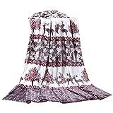 Deer Cartoon Summer Baby Towel Coral Carpet Air Conditioning Blanket