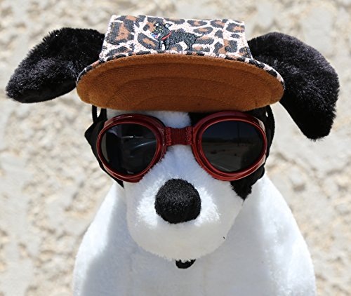 LoveWally Dog Outdoor PET Hat Leopard ♦ Adjustable Authentic (Large) by LoveWally (Image #3)