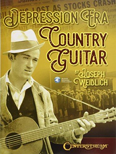 Depression Era Country Guitar Bk/Online Audio