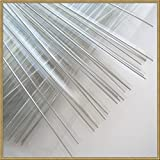 1000pcs 4'' CLEAR metallic twist ties foil twist ties for cello bags treat bags in birthday party wedding party