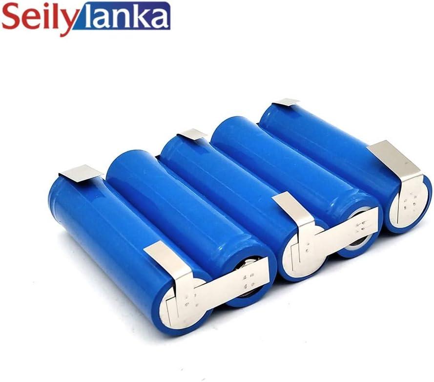Seilylanka 2000mAh para Hitachi 18V Li-ion Bater/ía de herramienta de litio BCL 1815 BCL1815 para autoinstalaci/ón