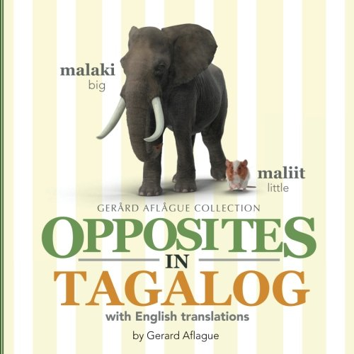 Opposites in Tagalog: With English Translations