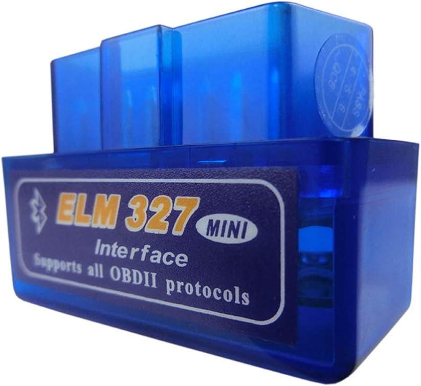 Mini Elm327 Bluetooth OBD2 V1.5 Buche 327 V 1.5 OBD 2 Automatisches Diagnosewerkzeug Scanner Elm-327 OBDII Adapter Automatisches Diagnosewerkzeug