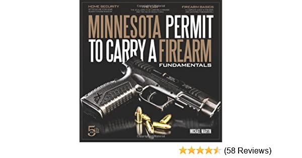 Minnesota Permit To Carry A Firearm Fundamentals 5th Edition