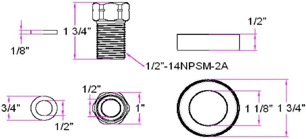 Design House Parts Accessories 522680 Kitchen Faucet Extension Kit Brass Antique Brass Faucet Extension Tubes Amazon Com