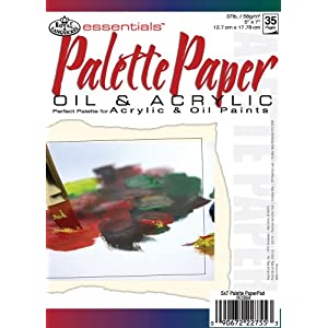Royal & Langnickel 5″X7″ Artist Pad Palette Paper (RD364)