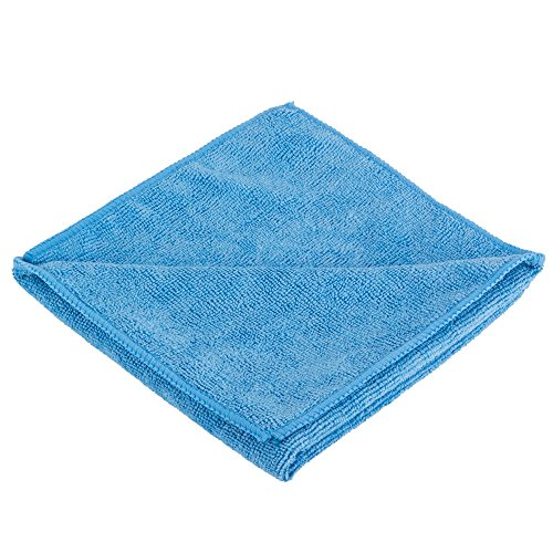 abco-products-heavy-duty-microfiber-16-x-16in-300-gsm-cleaning-towels-25-pack-blue