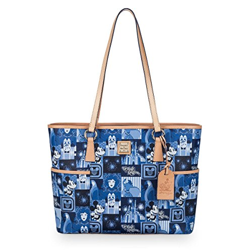 Disney Dooney & Bourke Magic Kingdom 45th Anniversary Tote Bag Purse
