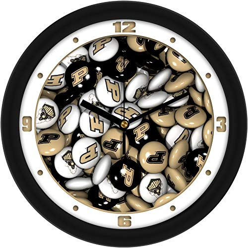 (SunTime Purdue Boilermakers - Candy Wall Clock)
