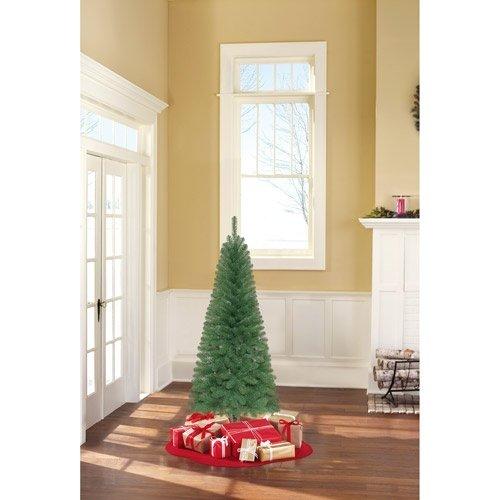 Holiday Time Non-Lit 6' Wesley Pine Christmas Tree, Green