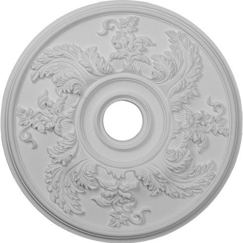 Ekena Millwork CM23AC 23 5/8-Inch OD Acanthus Twist Ceiling Medallion by Ekena Millwork