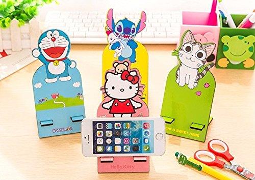 Hello Telephone Kitty (Hello Kitty Cellphone Socket Wooden Dock Stand Holder)