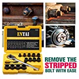 ENTAI Damaged Stripped Bolt & Nut Extractor Set, 16