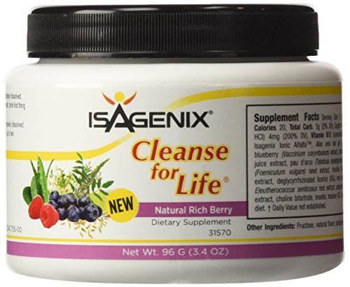 Isagenix Cleanse For Life Rich Berry Powder 96 G  3 4 Oz