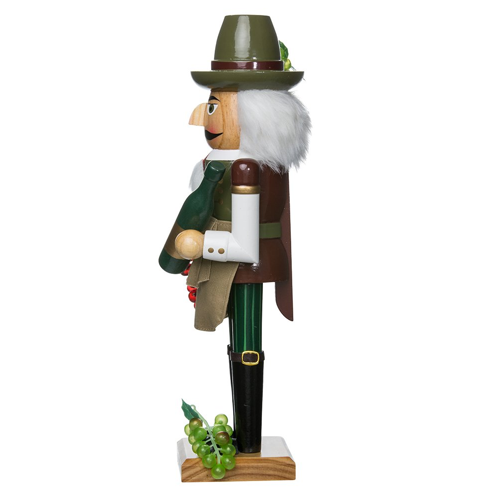 Kurt Adler 15-Inch Wooden Wine Grower Nutcracker by Kurt Adler (Image #4)
